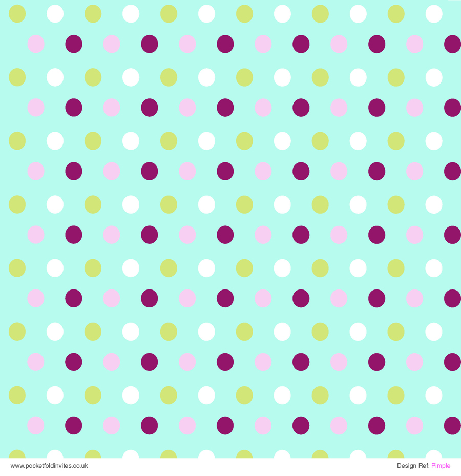 Patterned Paper Pimple