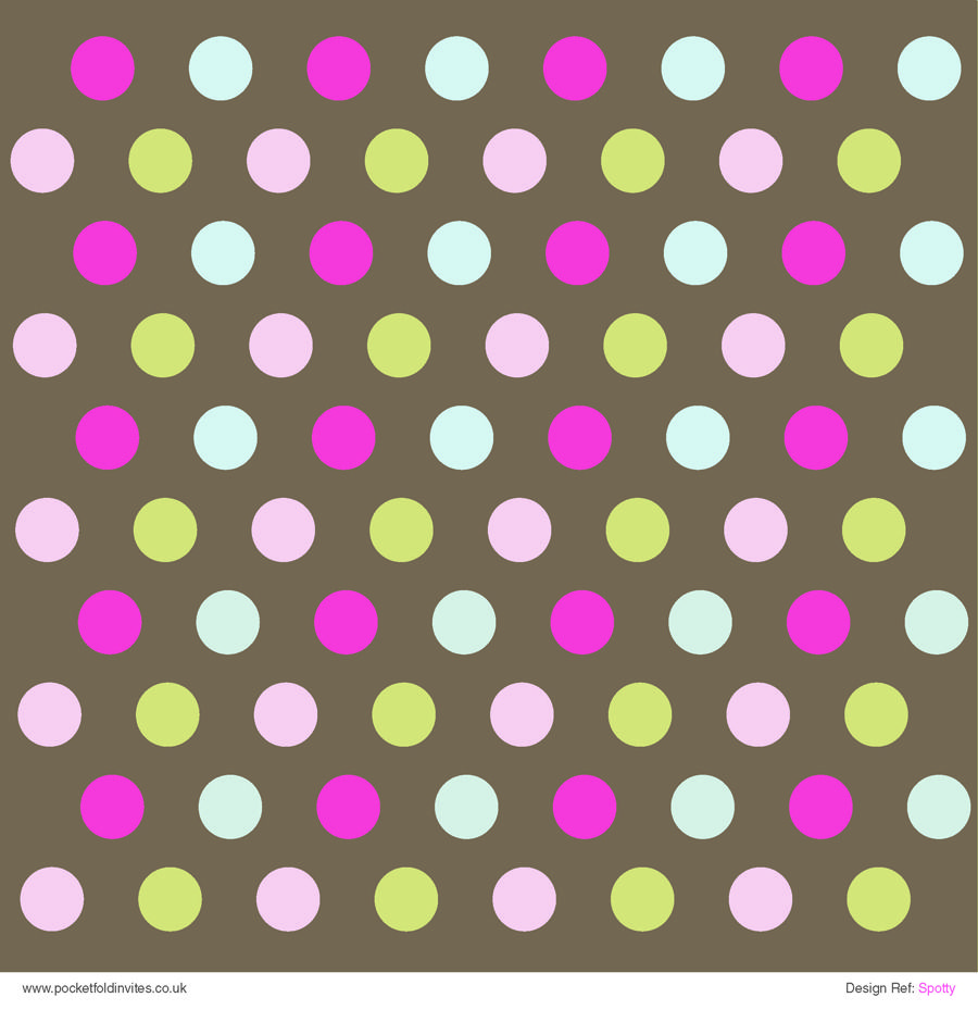 Patterned Paper Spotty