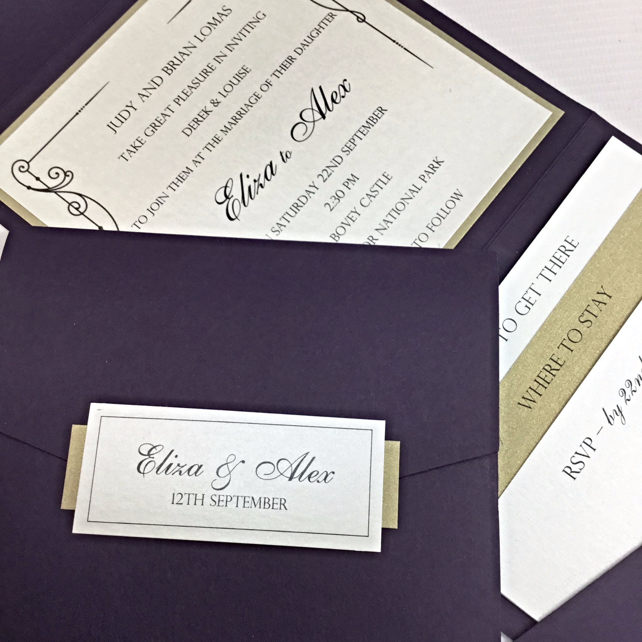 Handmade Wedding Invites - stationery - cards | Cheap Wedding ...